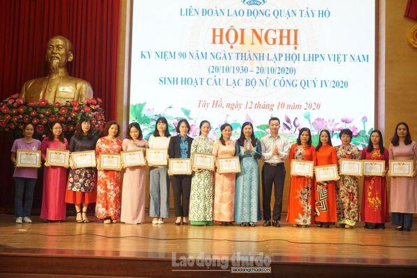 Kỷ niệm 90 năm ngày thành lập Hội Liên hiệp phụ nữ Việt Nam
