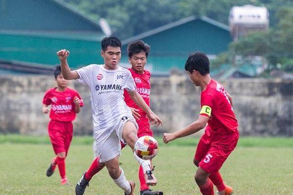 Xác định 4 đội vào bán kết Giải bóng đá Thiếu niên toàn quốc 2020