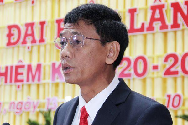 Giới thiệu ông Lâm Văn Mẫn ứng cử chức Bí thư Tỉnh ủy Sóc Trăng