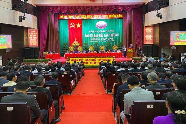 Khai mạc Đại hội Đảng bộ tỉnh Phú Yên lần thứ 17