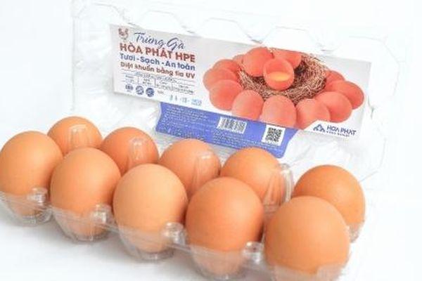 Hòa Phát giữ vững thị phần số 1 về sản lượng trứng gà ở miền Bắc