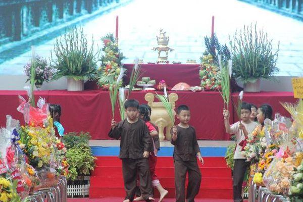 Ngôi trường mang tên vua Đinh GD học sinh hướng về nguồn cội