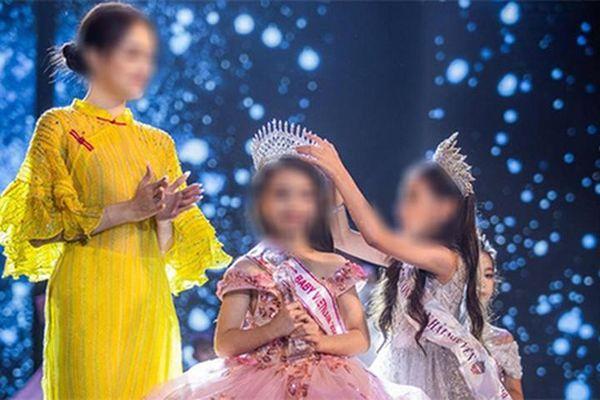 Miss Baby Viet Nam tổ chức thi 'hoa hậu nhí' chui: Từng bị tố bán giải?
