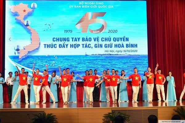 Hội thảo Kỷ niệm 45 năm thành lập Ủy ban Biên giới quốc gia qua ảnh