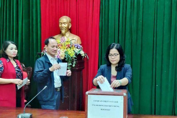 Các địa phương, đơn vị phát động quyên góp ủng hộ đồng bào miền Trung