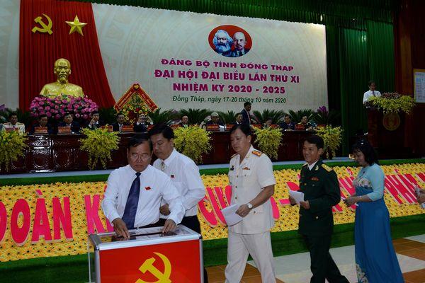 Ban Chấp hành Đảng bộ tỉnh Đồng Tháp khóa mới gồm những ai?