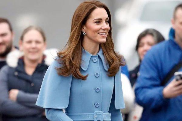 Thời trang áo khoác thanh lịch của công nương Kate Middleton