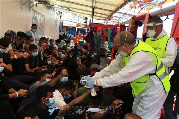 Liên hợp quốc thông báo về vụ chìm tàu ngoài khơi Libya