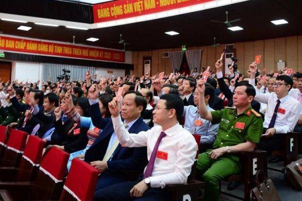 50 người trúng cử BCH Đảng bộ Thừa Thiên Huế khóa mới là những ai?