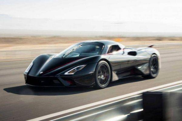 Danh hiệu ô tô nhanh nhất thế giới có chủ nhân mới