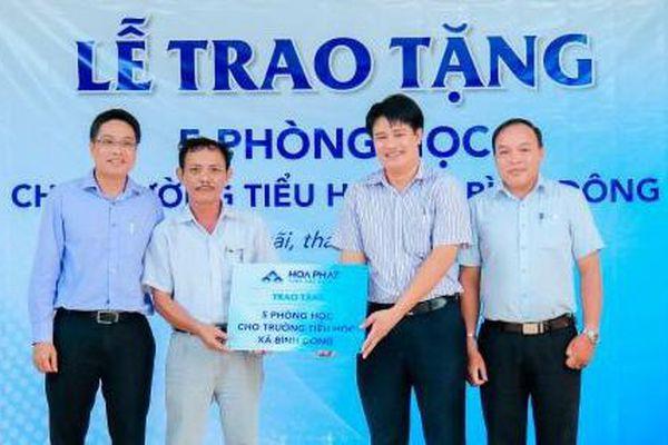 Hòa Phát dành 15 tỷ đồng cho hoạt động an sinh xã hội tại Quảng Ngãi