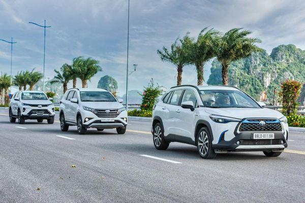 Dàn SUV Toyota 'bung sức' trong hành trình Hà Nội - Quảng Ninh
