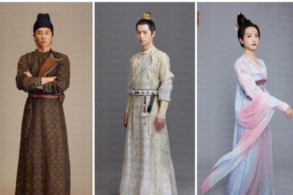 'Phong khởi Lạc Dương': Fan hứng khởi trước tạo hình chính thức của Vương Nhất Bác, Tống Thiến, Hoàng Hiên