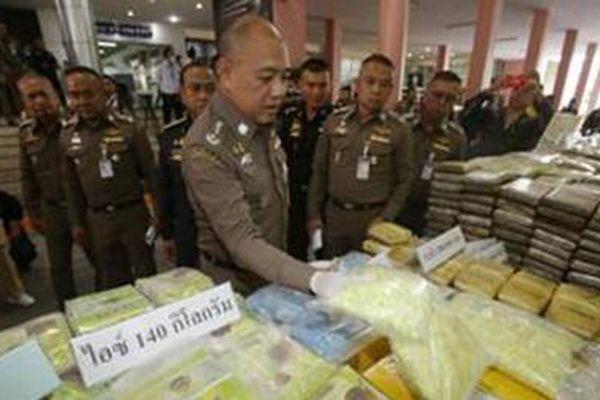 Cam go cuộc chiến chống ma túy của Thái Lan