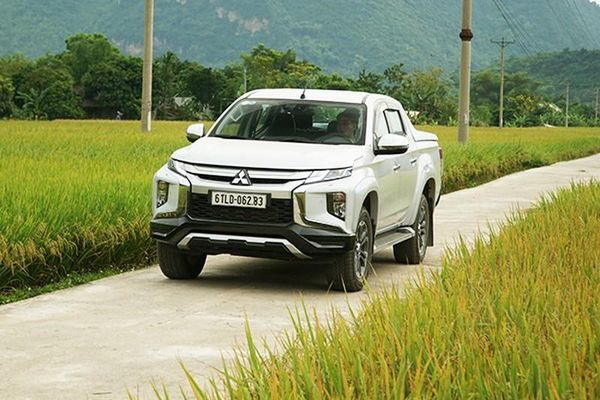 Đánh giá Mitsubishi Triton 2020 mới từ 600 triệu tại Việt Nam