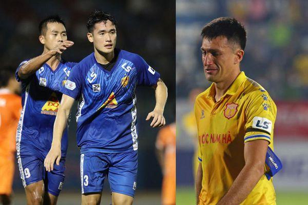 'Ông trời' nào ở V-League quyết Quảng Nam hay Nam Định trụ hạng?