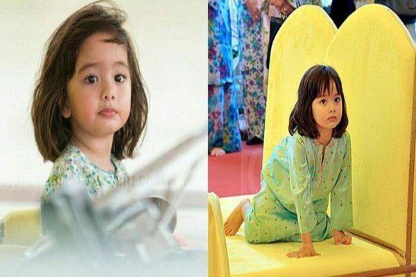 Sinh ra trên đống vàng, tiểu công chúa Malaysia càng lớn càng xinh đẹp