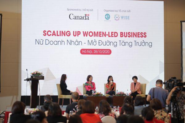 Làm sao tăng quy mô doanh nghiệp do phụ nữ làm chủ