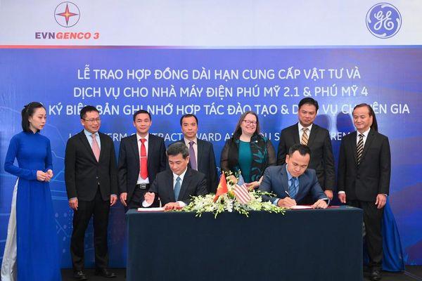EVNGENCO 3 ký hợp đồng cải thiện hiệu suất cho nhà máy điện Phú Mỹ