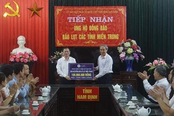 Công ty Điện lực Nam Định hướng về miền Trung
