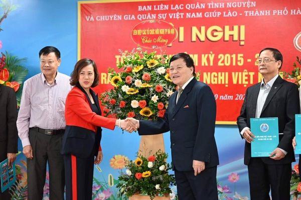 Ra mắt Chi Hội Hữu nghị Việt Nam - Lào Cựu quân tình nguyện TP Hà Nội