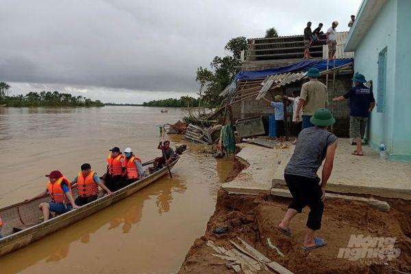 Mỹ viện trợ thêm 2 triệu USD khắc phục hậu quả mưa lũ miền Trung