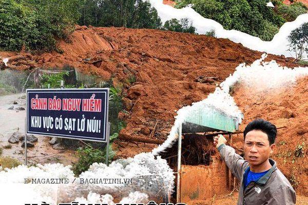 Hà Tĩnh không chủ quan với sạt lở đất
