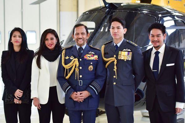 4 người con nổi tiếng của quốc vương Brunei