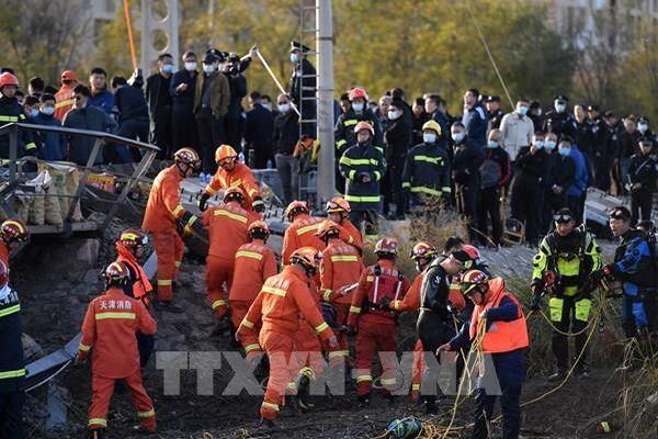 Trung Quốc: Sập cầu ở Thiên Tân, ít nhất 7 người thiệt mạng