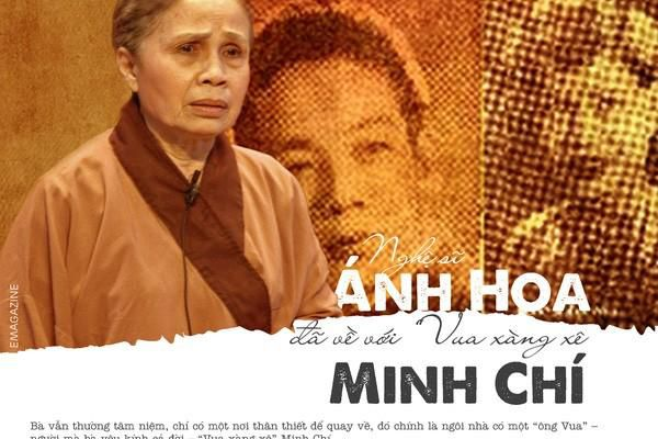 Nghệ sĩ Ánh Hoa về với Vua xàng xê Minh Chí