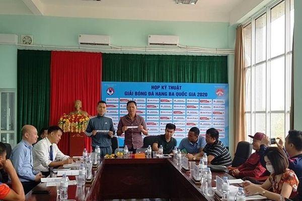 Bảng A giải Bóng đá hạng Ba quốc gia 2020 thi đấu tại Vĩnh Phúc
