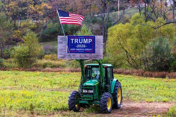 Dù cuộc sống khó khăn, nhiều nông dân Mỹ vẫn sẽ bầu cho ông Donald Trump