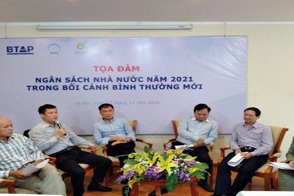 Dự toán ngân sách năm 2021: Phải đảm bảo mục tiêu kép!