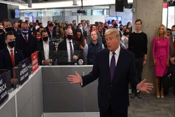 Ông Trump tự tin chiến thắng sẽ một lần nữa về tay mình