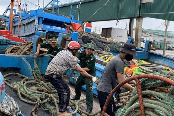 BĐBP Quảng Ngãi gấp rút ứng phó bão số 10