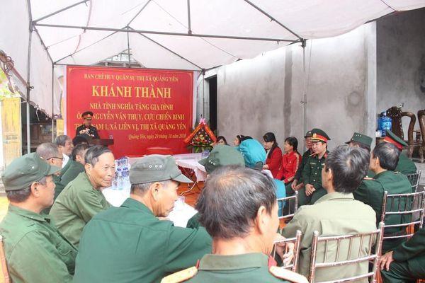 Ban CHQS TX Quảng Yên: Nhiều hoạt động thiết thực vì cộng đồng