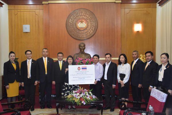 Chính phủ Hoàng gia Thái Lan hỗ trợ người dân miền Trung vượt qua khó khăn