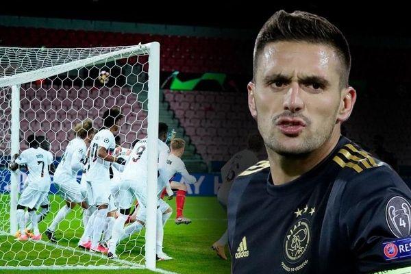 11 cầu thủ không thể ngăn sao Ajax ghi bàn