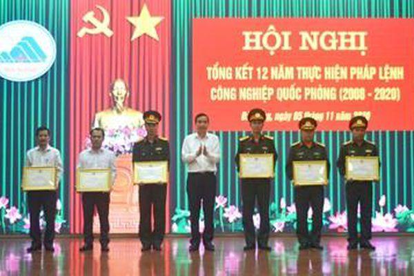 Đà Nẵng tổng kết 12 năm thực hiện pháp lệnh Công nghiệp quốc phòng