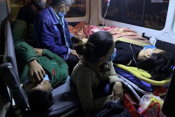 Đưa hai bệnh nhân nguy kịch từ đảo Cù Lao Chàm vào đất liền an toàn