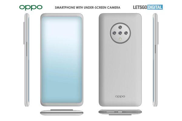 OPPO chuẩn bị tung ra smartphone có camera ẩn dưới màn hình