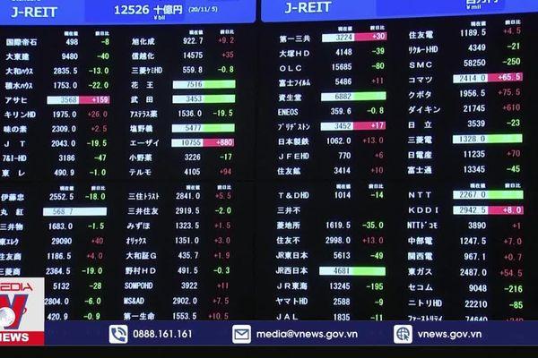Chứng khoán châu Á tiến sát mốc cao kỷ lục