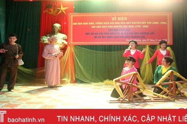 Xúc tiến việc triển khai Đề án Làng văn hóa Trường Lưu