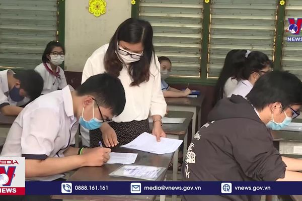 Kết luận thanh tra chấm thi tốt nghiệp THPT tại TP HCM