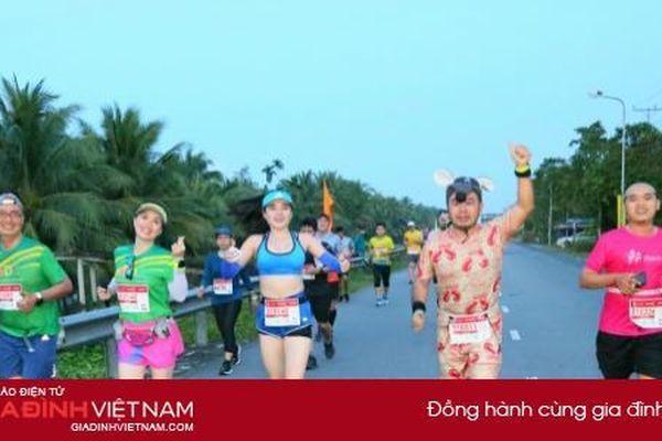 Hơn 7200 vận động viên tham gia Giải Mekong Delta Marathon Hậu Giang