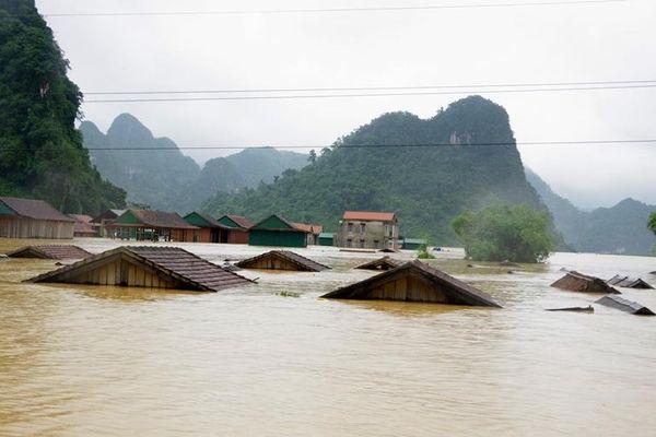 Nguy cơ cao xảy ra lũ quét, sạt lở đất tại nhiều nơi ở miền Trung và Tây Nguyên