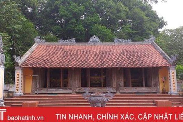 Đền thờ Nguyễn Liên ở Hà Tĩnh được xếp hạng di tích lịch sử cấp quốc gia