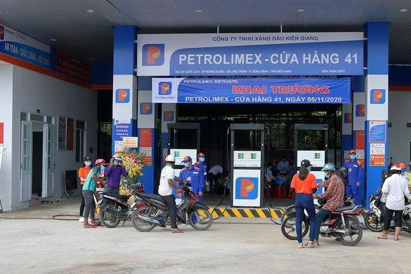 Petrolimex Kiên Giang tiếp tục mở rộng mạng lưới Cửa hàng xăng dầu