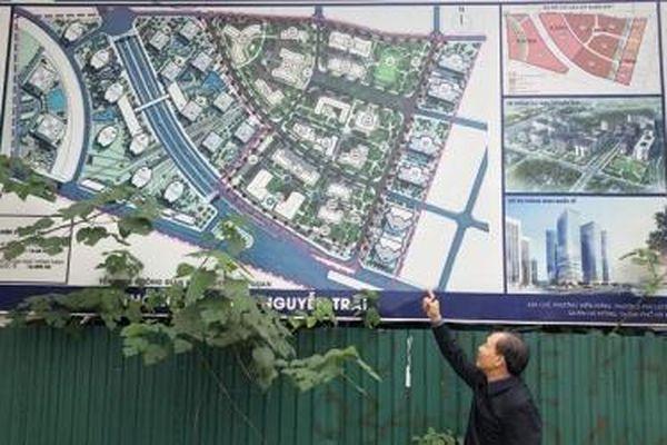 Dự án Khu giáo dục Nguyễn Trãi 'treo' hơn 10 năm: Cả chục héc-ta đất bỏ hoang, ngàn sinh viên thuê lớp học