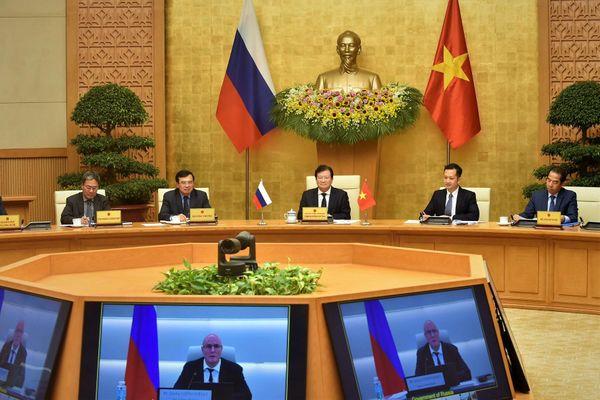 Việt Nam, Liên bang Nga chung tầm nhìn phát triển quan hệ đối tác chiến lược toàn diện